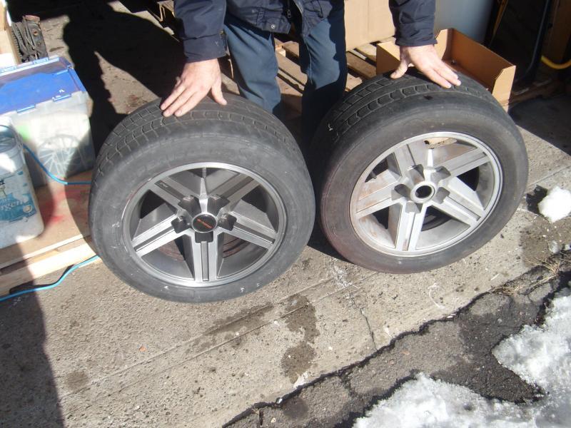 My 16 Quot Iroc Wheels Restoration Pics Third Generation